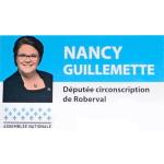 Nancy Guillemette députée du comté Roberval